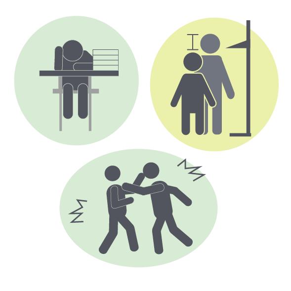 虐待による身体・精神・行動面への影響